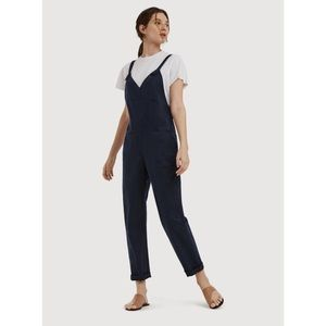 *nwt* kit & ace • seaside stretch overalls blue